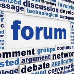 Разработка форума