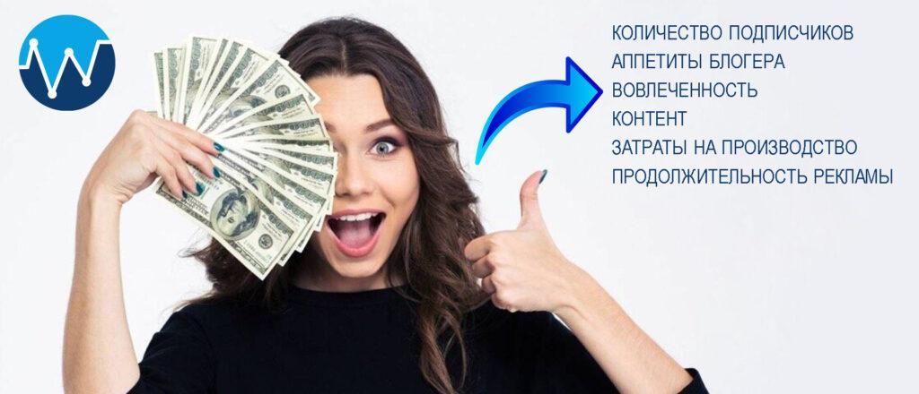 От чего зависит стоимость рекламы у блогеров?